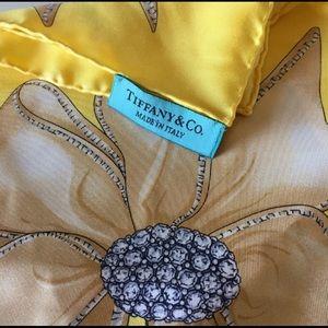 Tiffany & Co. silk scarf 👑